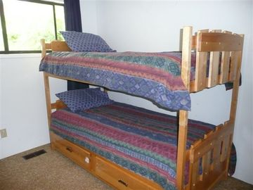 Bunkbeds upstairs for kids to share
