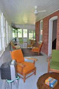 Wrap around sunporch...somedays it the best place to be!