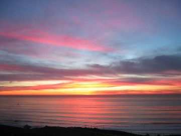 Dana Point condo rental - another beautiful sunset out front!