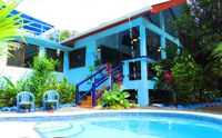 CASA AZUL With POOL - Lush Tropical Oasis - Steps to Pavones Point Break mynewfeed River