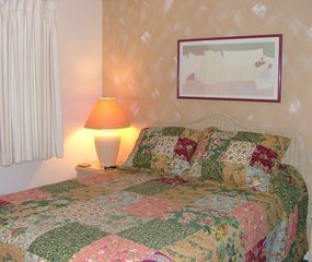 Fort Morgan condo photo - The Master Bedroom with a Queen Bed!