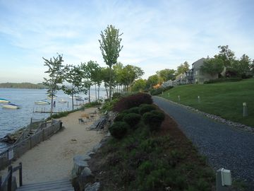 Gilford townhome rental - beautiful shared beach