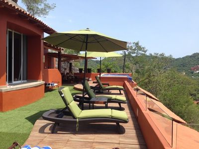 get the perfect tan on our private deck area