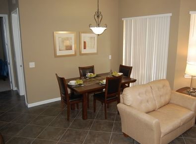 Very spacious living and dining areas