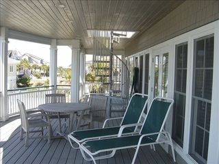 Bald Head Island house photo - Relax, Have Lunch, or Just Enjoy the View