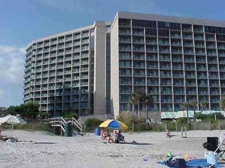 View from ocean of Sand Dunes - Sand Dunes condo vacation rental photo