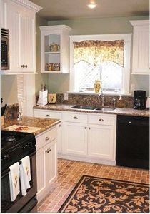 Kitchen Granite with Stainless Appliances