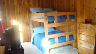 Lake Wallenpaupack house photo - Full over Full Bunks with new flat screen tv and game console (tv not pictured)