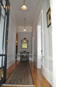 Entrance to flat & first hallway