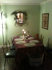 Alburg estate photo - Kitchen Table for intimate dining.