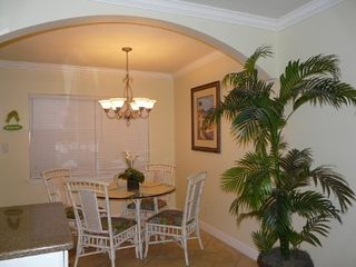 Indian Shores condo photo - Dining area seats four