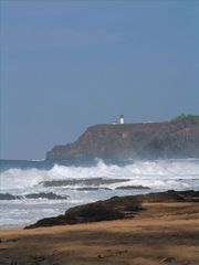 Princeville condo photo - Secret Beach with Kilawea Lighthouse