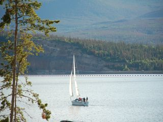 Dillon condo photo - One of the many Sailboats regularly seen on Lake Dillon