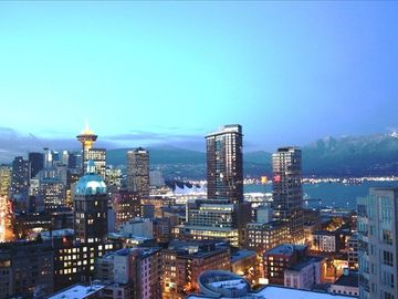 Vancouver apartment rental - View from the Penthouse