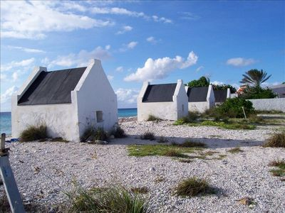 Or take in all the culture of the island, White Slave Huts on the south end