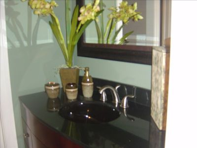 Custom baths and vanities