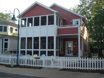 Michigan City house rental - Front of House