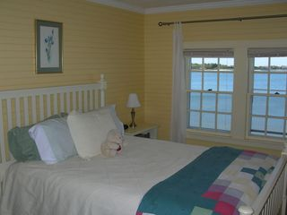 West Yarmouth house photo - Yellow Bedroom