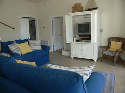 St George Island house rental - Downstairs Den