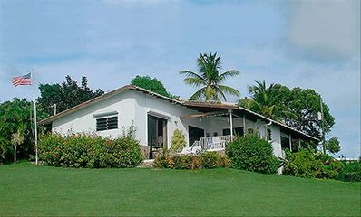 GP Seaview, 2BR/2Bath, is on a quiet & private oceanview .75 acre lot.