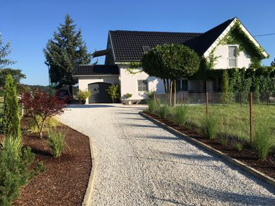 Modern, spacious holiday home in Carinthia, family-friendly, 5-6 Pers., Garden