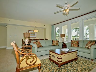 Stunning Views from Living Area to Choctawhatchee Bay