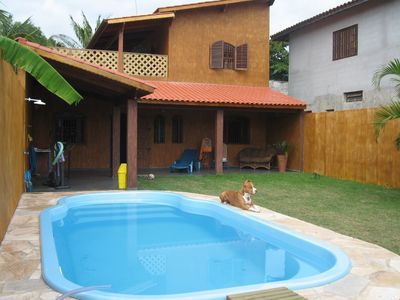 Charming house with sun, shade, cool water and bonsventos