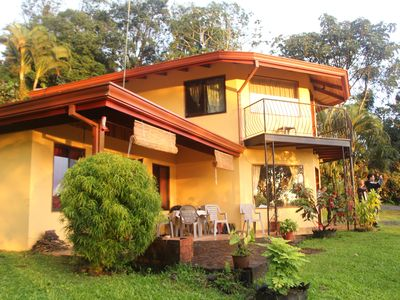 Two Story villa on private estate with Lake Arenal view and access.