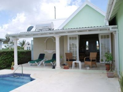 Bottom Bay villa rental - View of Patio and Pool deck