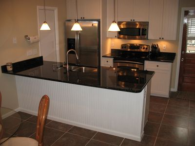 Designer kitchen with all the comforts of home!
