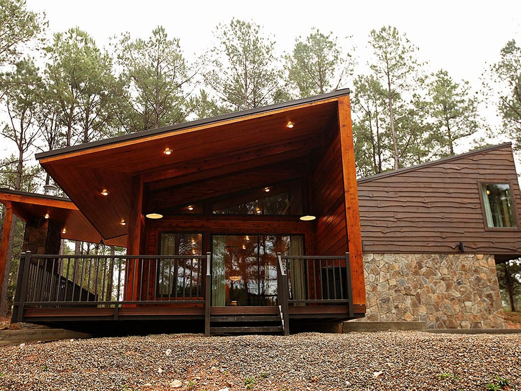 Nature resides cabin in broken bow ok homeaway oklahoma for Vacation cabin rentals in oklahoma