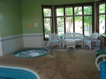 Hot Tub in Swimming Pool Room