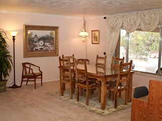 Kanab house photo - Upper dining area