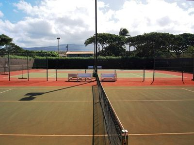 Tennis courts for guests