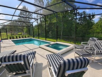 Cypress Pointe house rental - Private Pool and Spa Deck