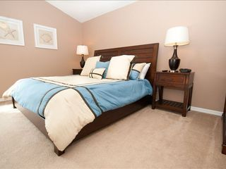 "Highgate Park villa photo - The Master Bedroom complete with a Euro Pillow top Mattress ""KING SI..."
