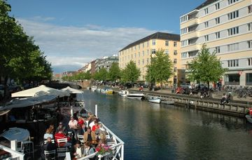 The Canal of Christianshavn