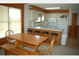 Kitty Hawk house photo - Kitchen breakfast bar seats 4