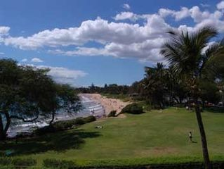 Kihei condo photo - Kamaole View from Lanai, a few short steps to sand