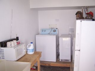 Galveston house photo - G/ level W/Dryer, micro, fridge.c/maker Ice maker
