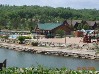 Branson villa photo - View of recreation Area North Side of Village