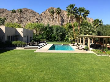 La Quinta house rental - Beautifully landscaped with incredible mountain views.