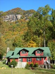 Chimney Rock cottage photo - View Rumbling Bald Mountain from Crimson Cottage