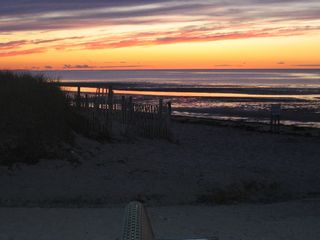 Brewster cottage photo - Sunset at Linell Landing Beach