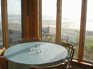 Glass enclosed porch - just steps to the beach