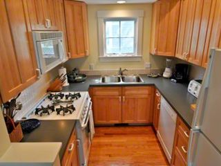 Edgartown house photo - Kitchen Opens To Dining Area For Easy Vacation Entertaining