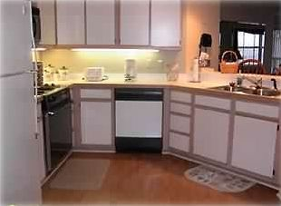 Fully equipped kitchen, just in case you feel like cooking.