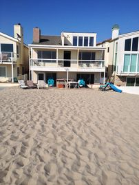 Oxnard house rental - Beach house ocean front right on the sand