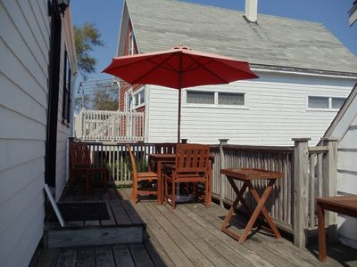 Provincetown cottage rental - Another Deck shot