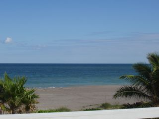 Hutchinson Island townhome photo - View of beach due East from master bedroom